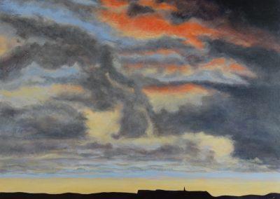 Vlieland zonsondergang